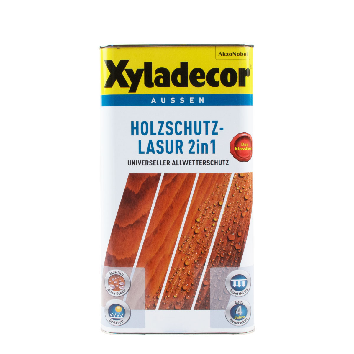 Xyladecor Holzschutz-Lasur 2in1 5L Eiche