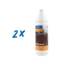 2x Dr. Schutz Spraymax 1L f. Spray Mob-Set, Parkett/Kork/Laminat Reiniger