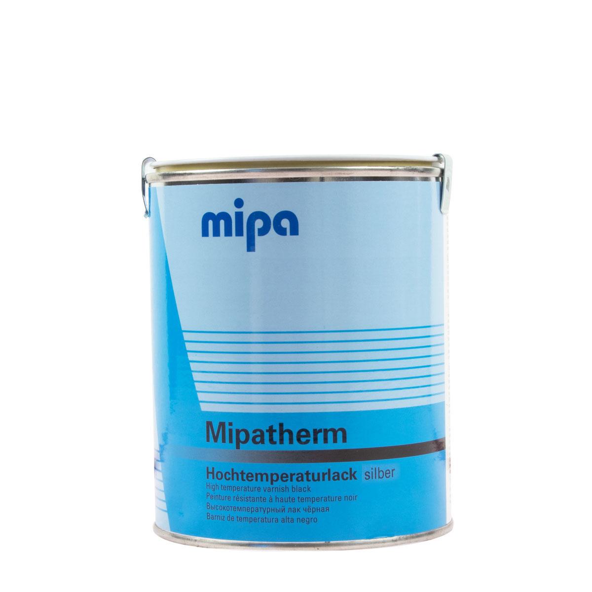 Mipa Mipatherm 750ml silber, hitzebeständig 800 °C, Ofenlack, Auspufflack